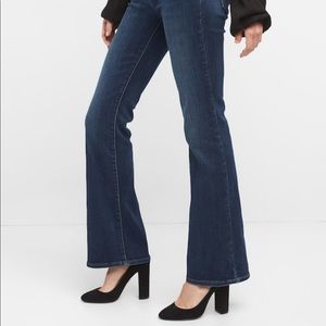 GAP 1969 Perfect Boot Dark Wash Mid Rise Jeans 25S